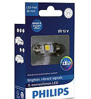 Автолампи LED Philips Vision C5W (38мм) 6000K 12V 128596000KX1(1 шт.)