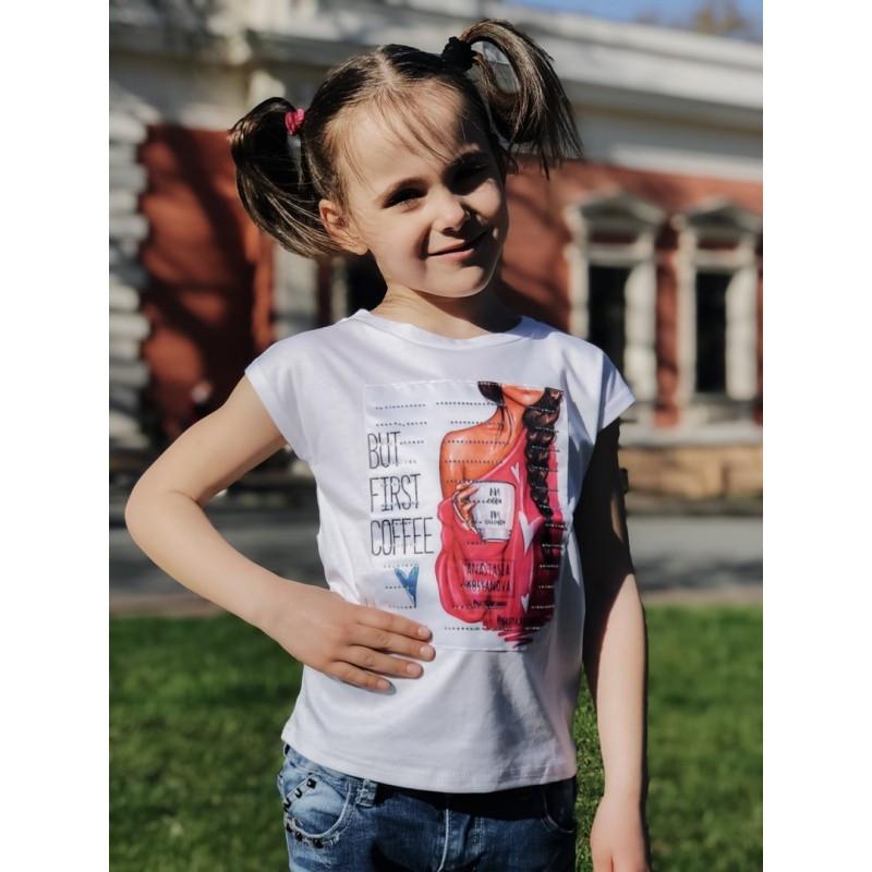 Детская футболка Коса мод.2214