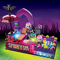 Lite Brix.Конструктор з підсвіткою. Moonlight Monsters Spooky Spa Building Set. Спа-салон Монстрів. 41 деталей
