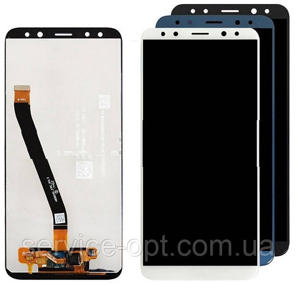 Дисплей Huawei Mate 10 Lite (RNE-L01, RNE-L21) + сенсор синий
