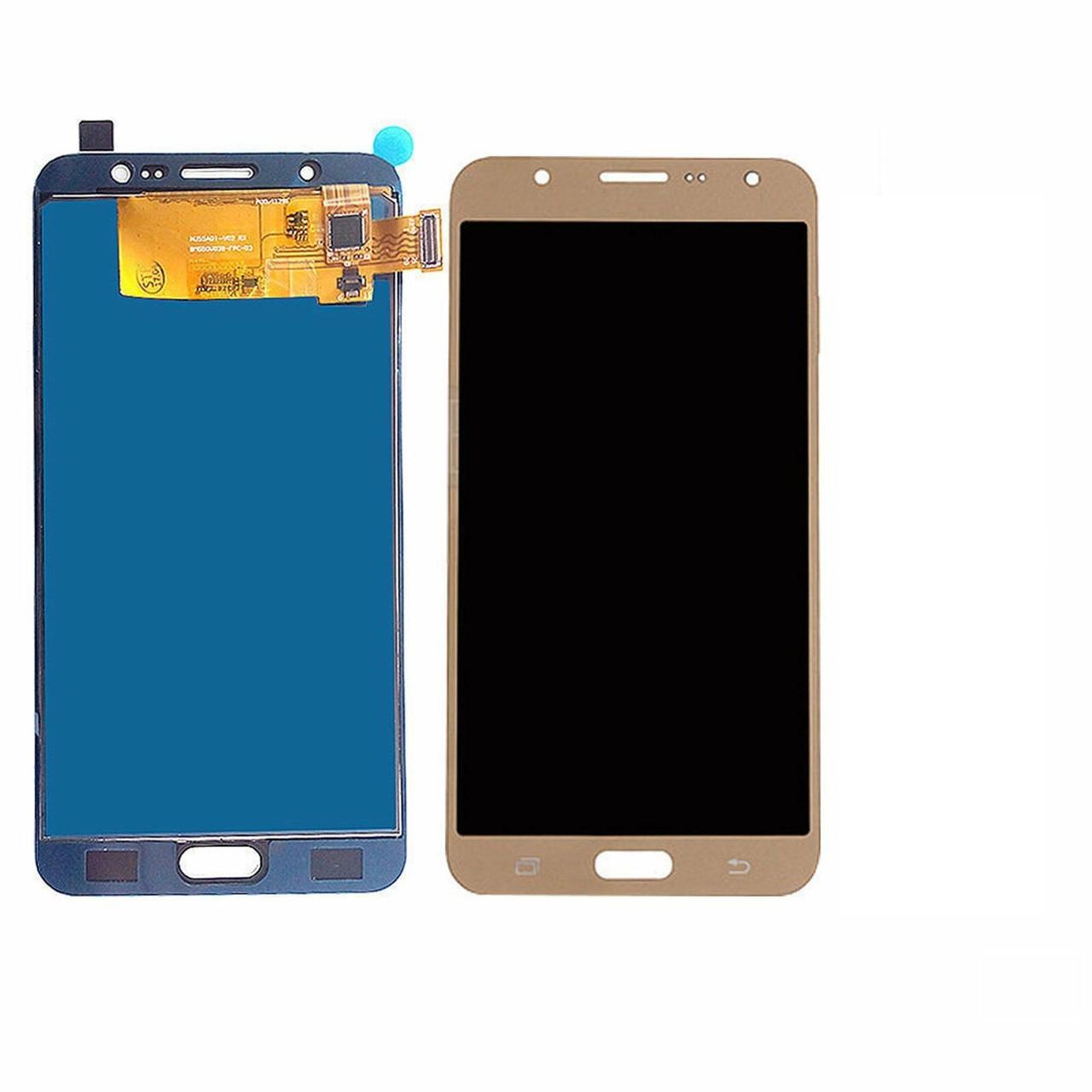 Дисплей Samsung J710F, J710H Galaxy J7 2016 OLED + сенсор золотой