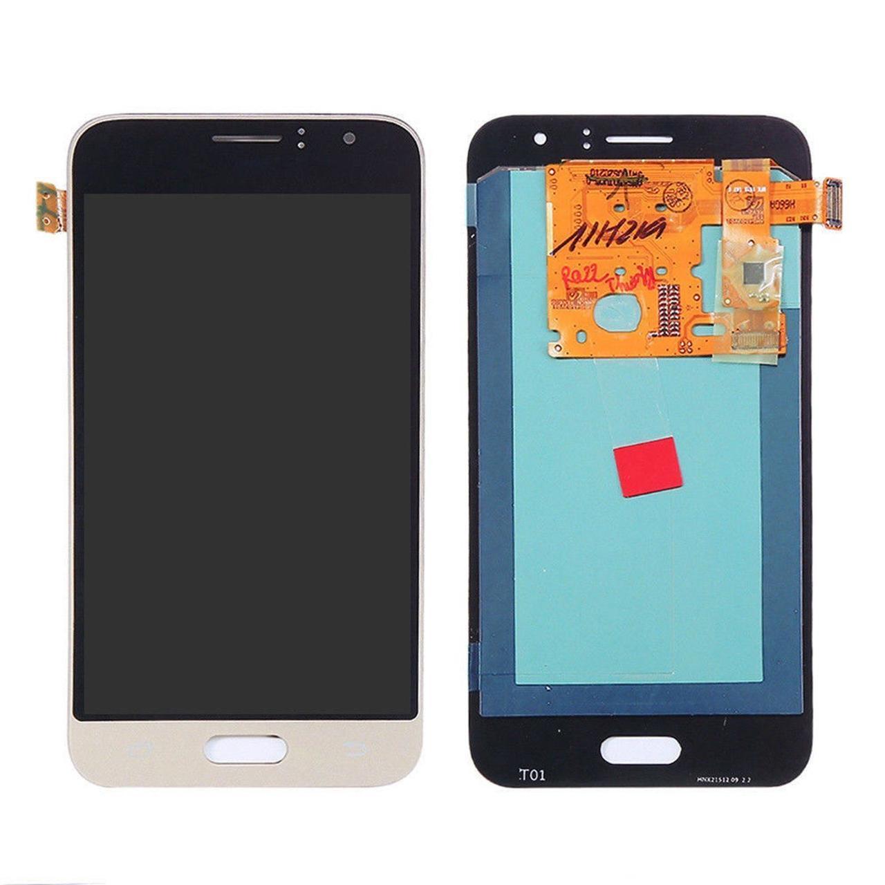 Дисплей Samsung J120H Galaxy J1 (2016) (OLED) + сенсор золотой