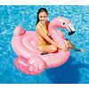 Плотик-матрас надувной Розовый фламинго 142х137х97 см Intex 57558, фото 2