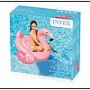 Плотик-матрас надувной Розовый фламинго 142х137х97 см Intex 57558, фото 4