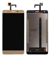 Дисплей Oukitel K6000 Pro + сенсор золотой
