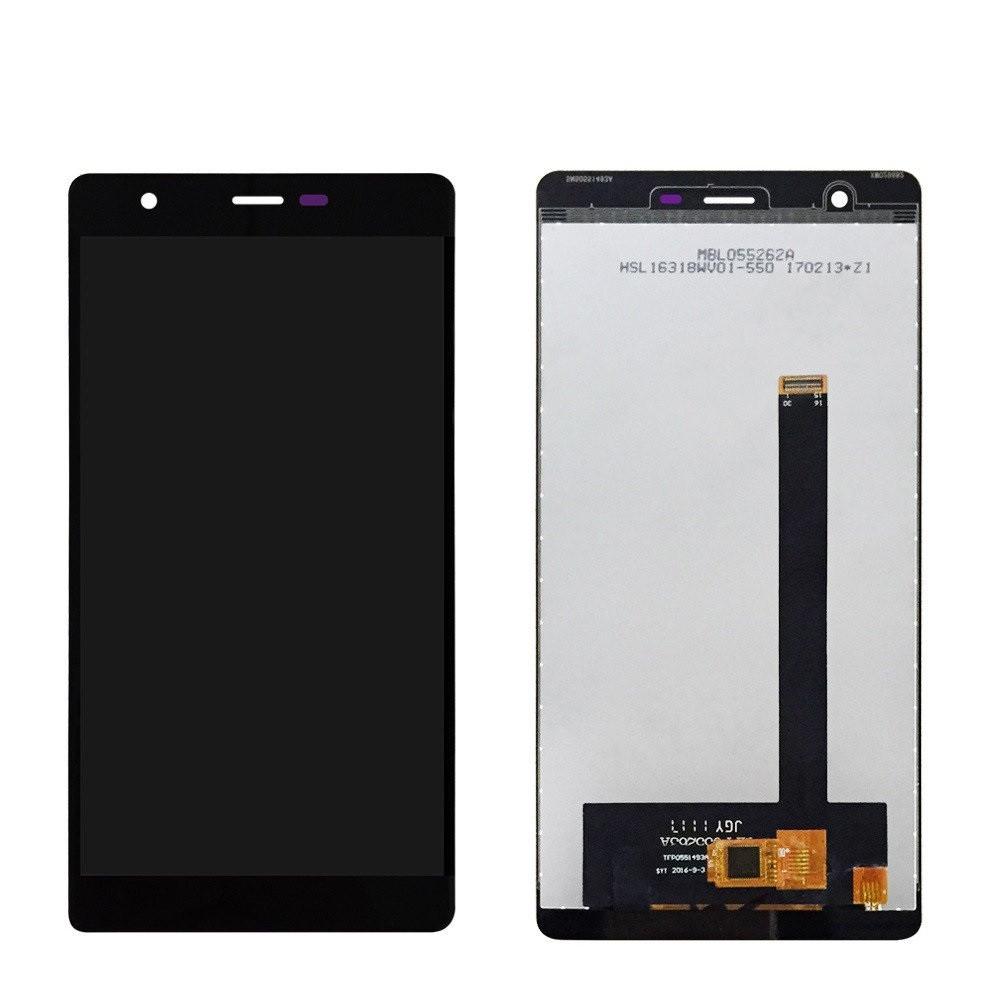 Дисплей Oukitel U13 + сенсор чёрный
