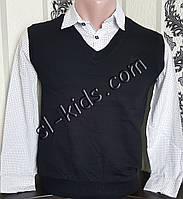 Обманка FIGO для мальчика 134-164 см (черная) (пр. Турция)