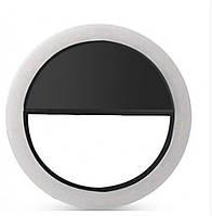 Светодиодное кольцо селфи чёрное