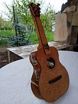Мини-бар Гитара с рюмками, фото 3