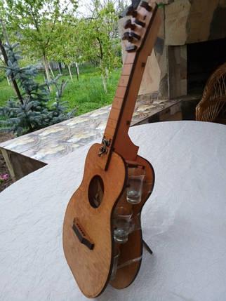 Мини-бар Гитара с рюмками, фото 2