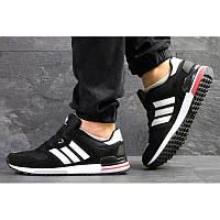 best service be07a 2909a Мужские кроссовки Adidas ZX700 черные с белым р.43 Акция -50%!
