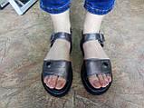Комфортні шкіряні сандалі на платформі Milli Gold, фото 7