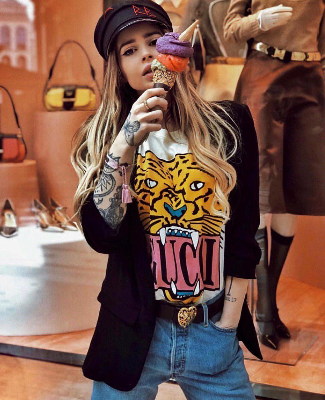 c58e44be9 Футболка GUCCI люксовая реплива - Оптово-розничный интернет-магазин модной  одежды