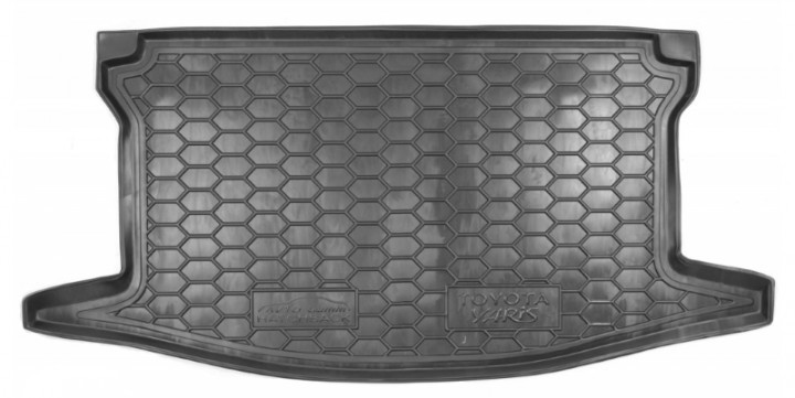 Коврик в багажник для Toyota Yaris (2015>) полиуретан AG верхняя полка 111600 Avto-Gumm