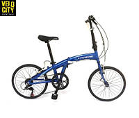"Складной велосипед Cayman Fold-3 20"" синий, фото 1"