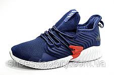 Мужские кроссовки в стиле Adidas AlphaBounce Instinct Clima, Синие, фото 2
