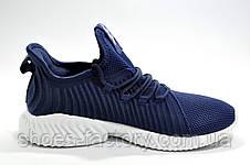 Мужские кроссовки в стиле Adidas AlphaBounce Instinct Clima, Синие, фото 3