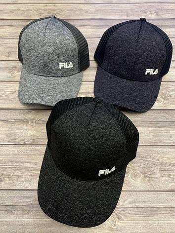 Подростковая кепка с сеткой для мальчика FILA р.57-59, фото 2