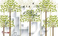 """3D Фотообои """"Деревья"""""""