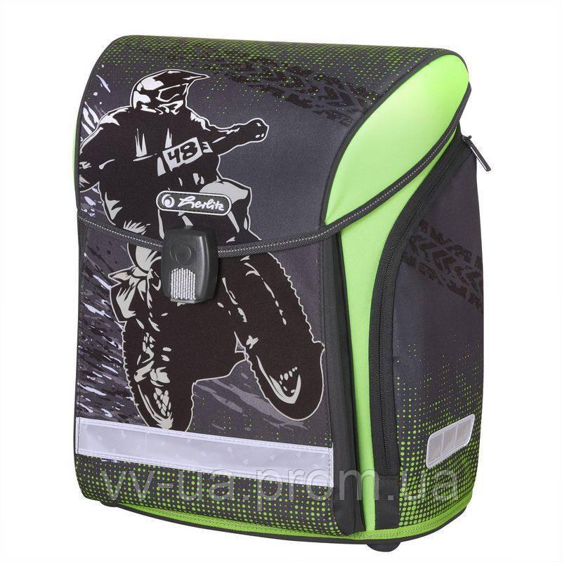 Ранец школьный Herlitz MIDI Motocross 50020461