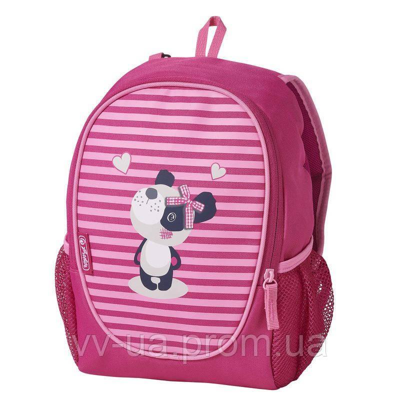 Рюкзак детский Herlitz ROOKIE Sweety Panda, для девочек, розовый (50020720)