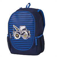 Рюкзак детский Herlitz ROOKIE Truck Трактор, для мальчиков, синий (50020737)