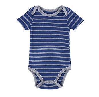 Боди для мальчика: Mother Nest - Полоска. Стильный хлопковый бодик для новорожденного в полоску