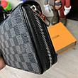 Мужской портмоне Louis Vuitton Zippy XL Damier Graphite, фото 3