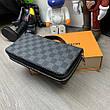 Мужской портмоне Louis Vuitton Zippy XL Damier Graphite, фото 4
