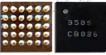 Микросхема управления зарядкой 358S для Samsung i9082, i9152, T110, T210, T211