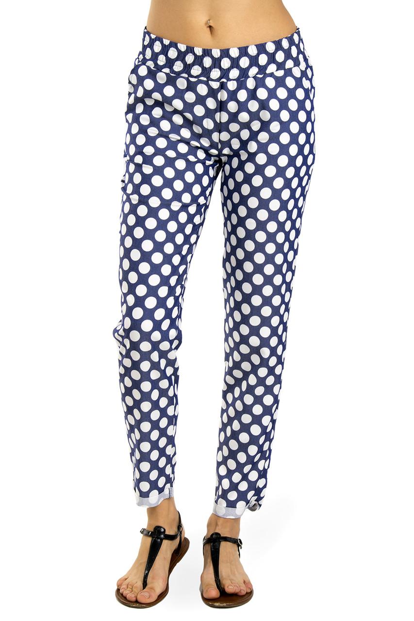 Женские брюки из стрейч-коттона 44, 46 (в расцветках)