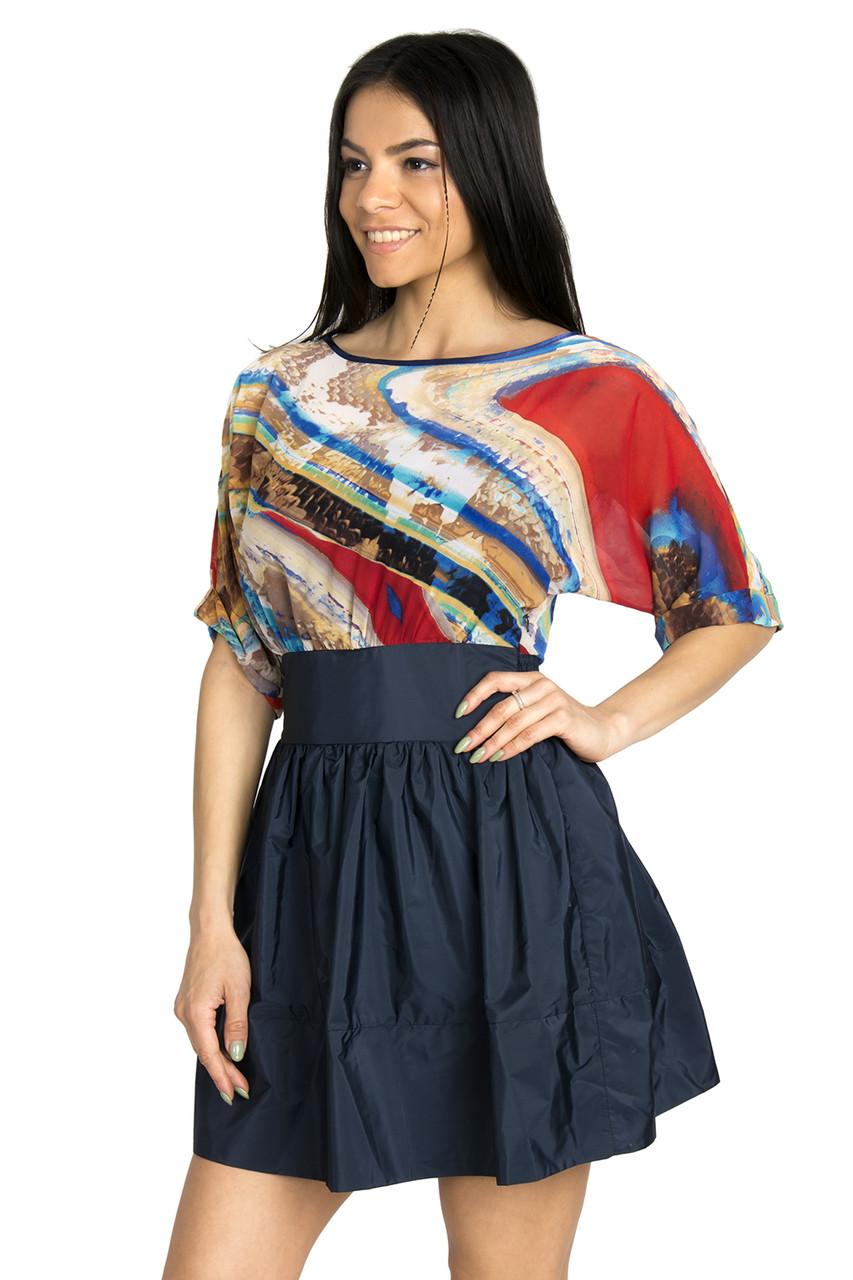 Стильное молодежное платье 42-44