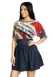 Стильное молодежное платье 42-46