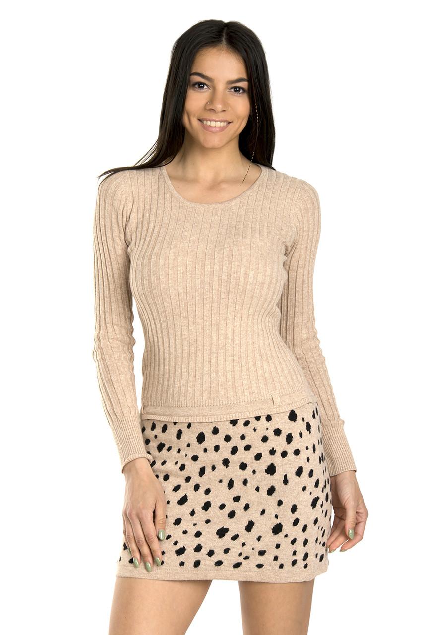 Зимнее женское платье с хомутом 44р (в расцветках)