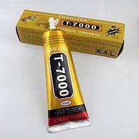 Клей силиконовый T7000 Zhanlida 110мл в тюбике чёрный