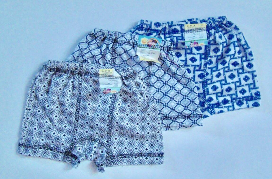 Детские трусики-шортики на мальчика хлопок размер 26-34 (1-7 лет) ассорти РОСТОВКА