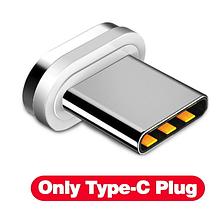 Конектор USB TYPE-C для магнітного кабелю GETIHU FLOVEME швидка зарядка Android Samsung Xiaomi