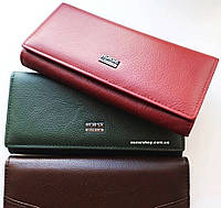100% Кожаный женский кошелек Хорс. Выбор. Женский клатч оригинал. Женский бумажник кожа. СК7-1, фото 1