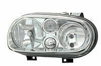 Фара прав. (H1/H7, электрический без моторчика) VW GOLF IV