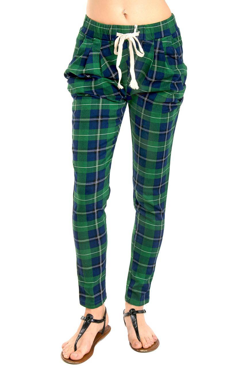 Модные женские брюки в клетку 42-50