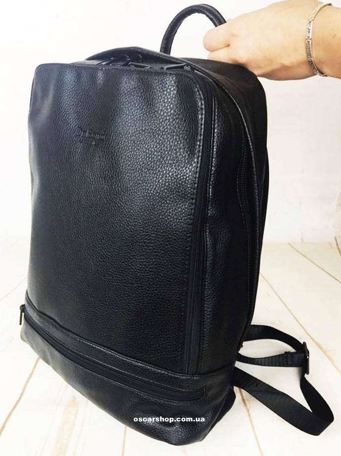 8abf3528d5f1 Кожаный школьный портфель Bond. Мужской рюкзак для учебы. Сумка мужская под  ноутбук. СЛ03