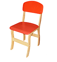 Стул детский фанерный «Фантазия» – спинка и сиденье из крашеной гнуто-клееной фанеры № 1