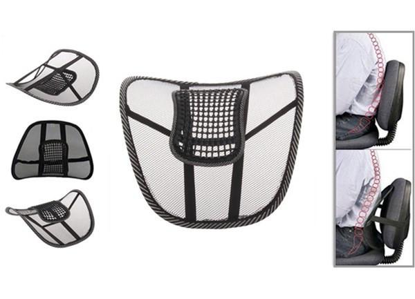 Корректор поясничного отдела Офис Комфорт - эргонимичная поставка для спины,накладка на кресло в офис и авто