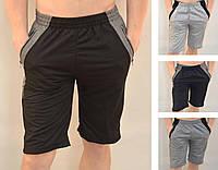 Шорты мужские трикотажные с молниями на карманах Бриджи трикотажные от M до 3XL