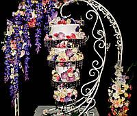 Свадебный подвесной торт