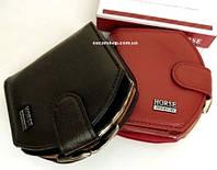 """Кошелек Хорс """"ракушка"""" кожа. Бумажник Портмоне в коробке. Женский кошелек из кожи. СК90, фото 1"""