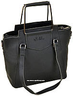 Модная сумка женская Alex Rai металлические ручки. Кожаный портфель на ремне Алекс Рэй. С2