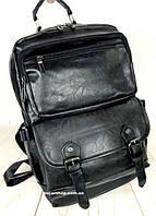940fa7e25df8 Школьный портфель. Кожаный женский рюкзак. Мужской портфель. Сумка для  ноутбука. С12