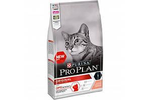 Корм ProPlan Original Adult Salmon Про план Ориджинал Едалт для дорослих кішок з лососем 1,5 кг