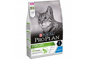 Корм ProPlan Sterilised Adult Rabbit Про план Едалт для стерілізованих кішок з кроликом 1,5 кг
